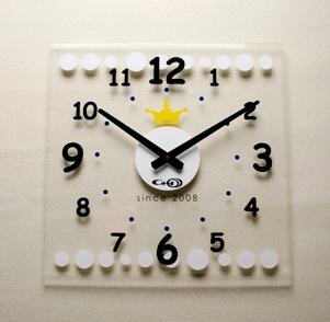 掛け時計GHOアクリル時計 BIGシリーズ02【楽ギフ_のし】掛け時計 掛時計 おしゃれ【10P20Oct14】