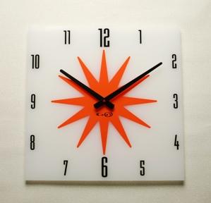 掛け時計GHOアクリル時計 BIGシリーズ03【楽ギフ_のし】掛け時計 掛時計 おしゃれ【10P20Oct14】