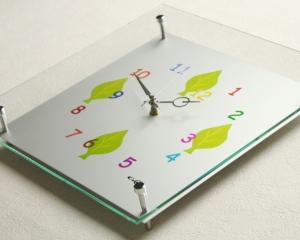 掛け時計GHOオリジナルデザイン掛け時計SW-280II「リーフ」【楽ギフ_のし】掛時計 おしゃれ【10P01Nov14】