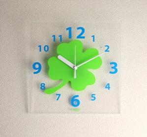 掛け時計GHOクリア掛け時計ACR-02【楽ギフ_のし】掛時計 おしゃれ【10P01Nov14】