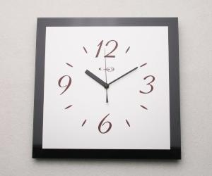 掛け時計GHOオリジナルデザイン掛け時計AG-0402型「ブラック」【楽ギフ_名入れ】【楽ギフ_のし】掛時計 おしゃれ【10P01Nov14】