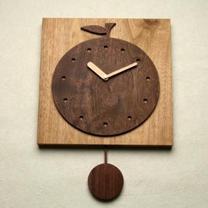 掛け時計【メッセージ料込み】掛け時計 木製【木の時計】GHO無垢時計「大地の恵」【楽ギフ_名入れ】【楽ギフ_のし】木製 掛け時計 掛時計 おしゃれ 名入れ【10P13Dec14】