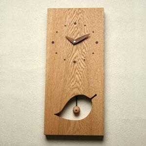 掛け時計【メッセージ料込み】掛け時計 木製【木の時計】GHO無垢時計「大樹」【楽ギフ_名入れ】【楽ギフ_のし】掛時計 おしゃれ【10P13Dec14】