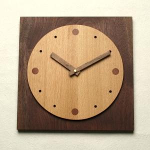 【あす楽対応】【木の時計】GHO無垢時計「サークル」【楽ギフ_のし】名入れ