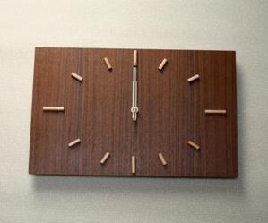 掛け時計【送料無料メッセージ料込み】ナガテンクロック木製 掛け時計 掛時計 おしゃれ【10P20Oct14】