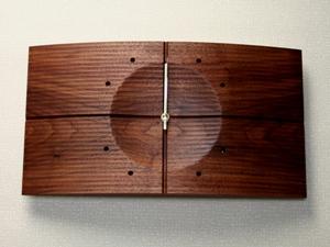 掛け時計【送料無料メッセージ料込み】シェイドクロック木製 掛け時計 掛時計 おしゃれ【10P20Oct14】