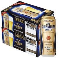 父の日 ギフト プレゼント ビール サントリー ザ・プレミアムモルツ 500ml缶 6缶パック×4入 2ケース48本入り サントリー 送料無料