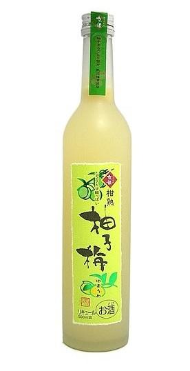 ギフト プレゼント リキュール 柑熟 柚子梅 500ml瓶 1ケース6本入り 京都府 京姫酒造 送料無料