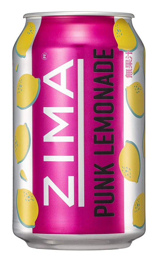 ギフト プレゼント リキュール ZIMA ジーマ パンクレモネード 330ml缶 1ケース24本入 輸入元 モルソン・クアーズ・ジャパン 送料無料