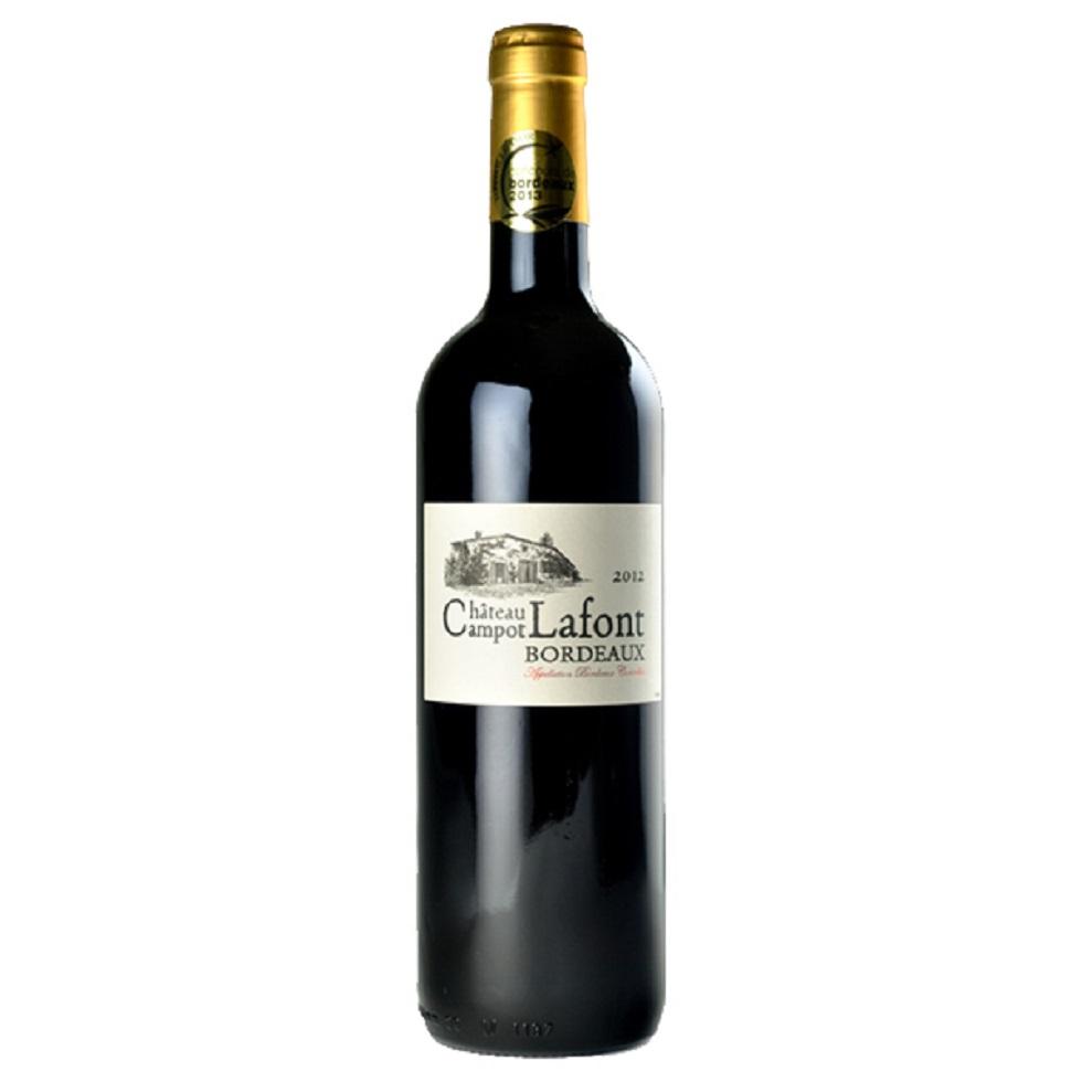 1ケース売り送料無料ヴィンテージが在庫しだい進みます。 1ケース単位12本入り ギフト プレゼント 家飲み 家呑み ヤマト運輸 金賞ワイン シャトー・カンポ・ラフォン2016年赤 750ml 12本入り フランス