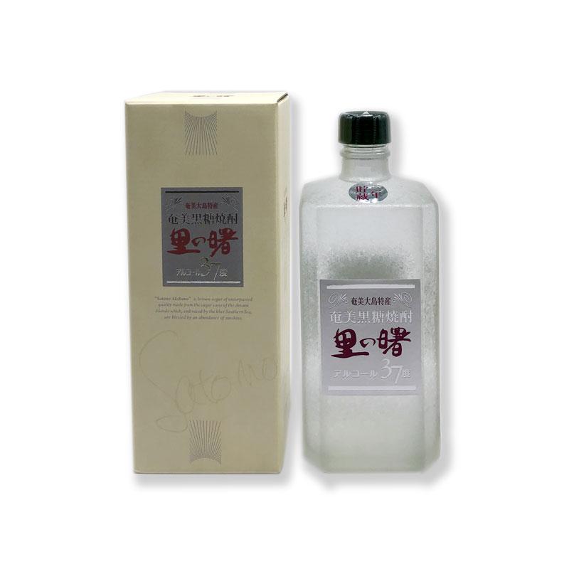 黒糖焼酎 激安☆超特価 里の曙 長期貯蔵 白角 箱入 信頼 720ml 37度