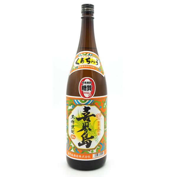 黒糖焼酎 喜界島 購買 1800ml 豪華な 30度