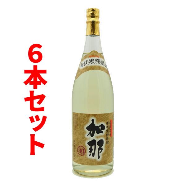 送料無料 加那 かな 30度/1800ml 6本セット 奄美大島 黒糖焼酎
