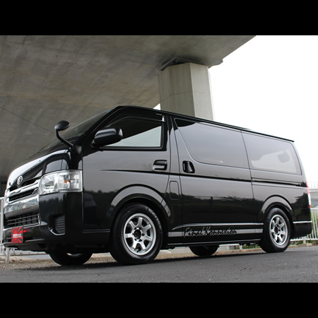 200 factions Hiace lenso RT7 (Silver) JWLT 7 Jx 16 + 35