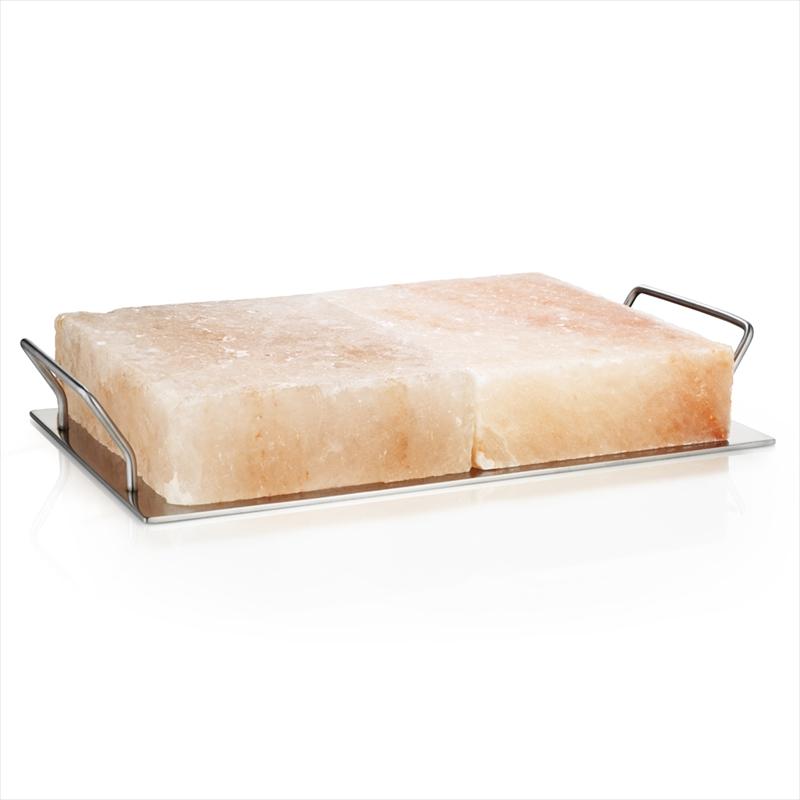 超歓迎された ヒマラヤ岩塩ブロックを2個組み合わせたプロ仕様キット 網やガス オーブンなどで熱して肉や魚料理に 冷やして冷製料理やデザートのプレートとしても 送料無料 RIVSALT リブソルト ガストロノミー バーベキュープロ Pro BBQ スウェーデン 返品交換不可 岩塩