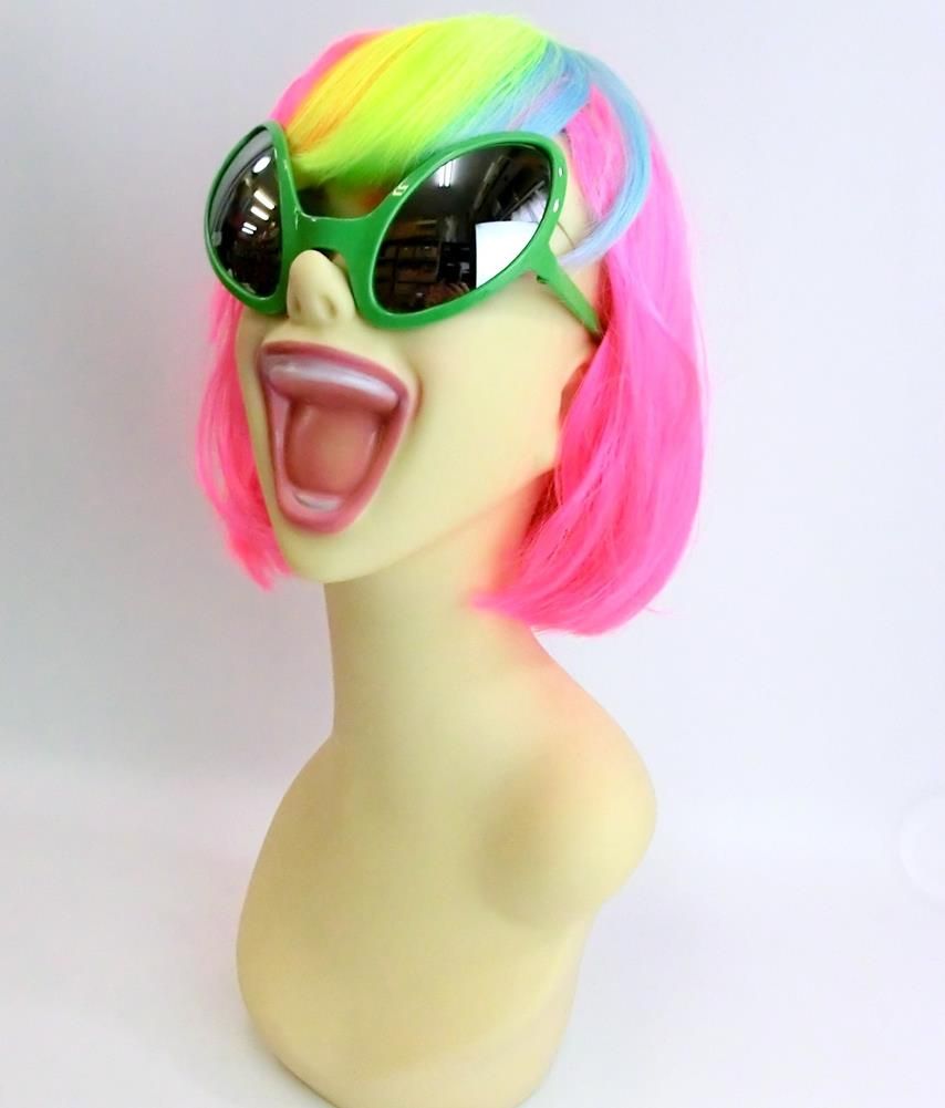 edd86065a5 Party specifications 120 %☆ funky sunglasses alien (Halloween costume  disguise accessory sunglasses costume play)