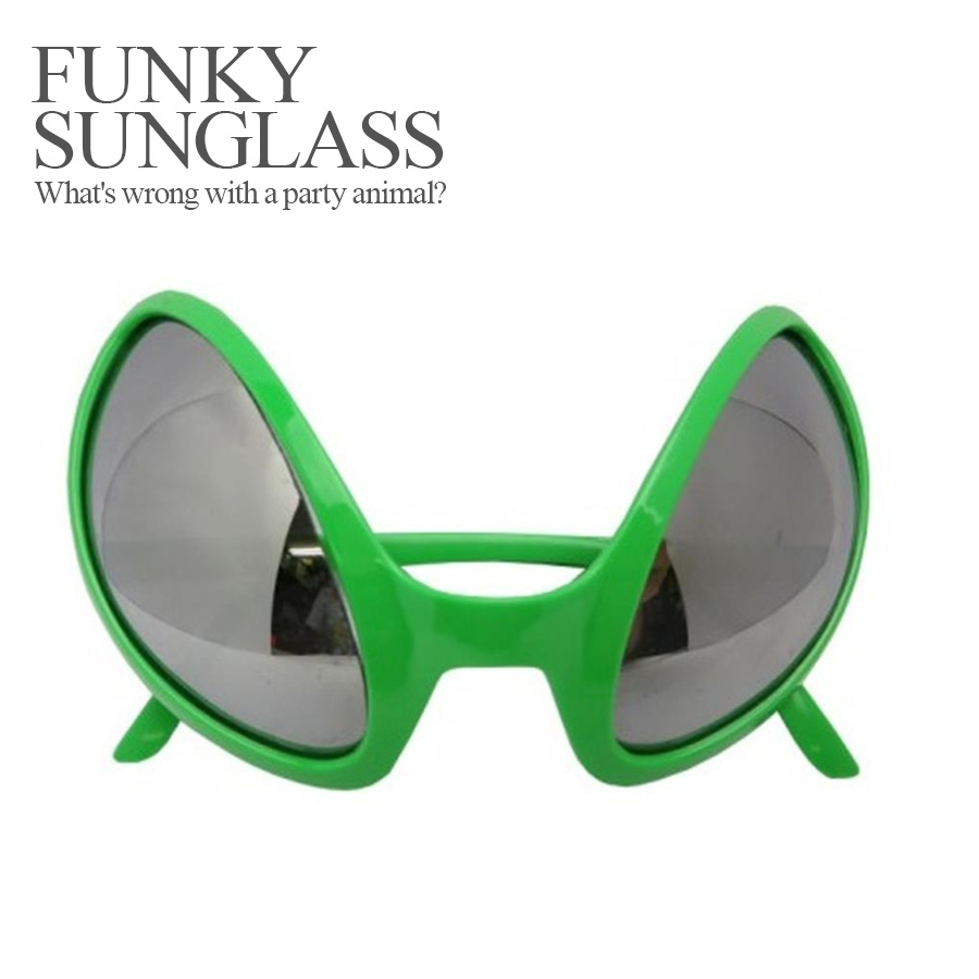 6305fa39819f Party specifications 120 %☆ funky sunglasses alien (Halloween costume  disguise accessory sunglasses costume play ...