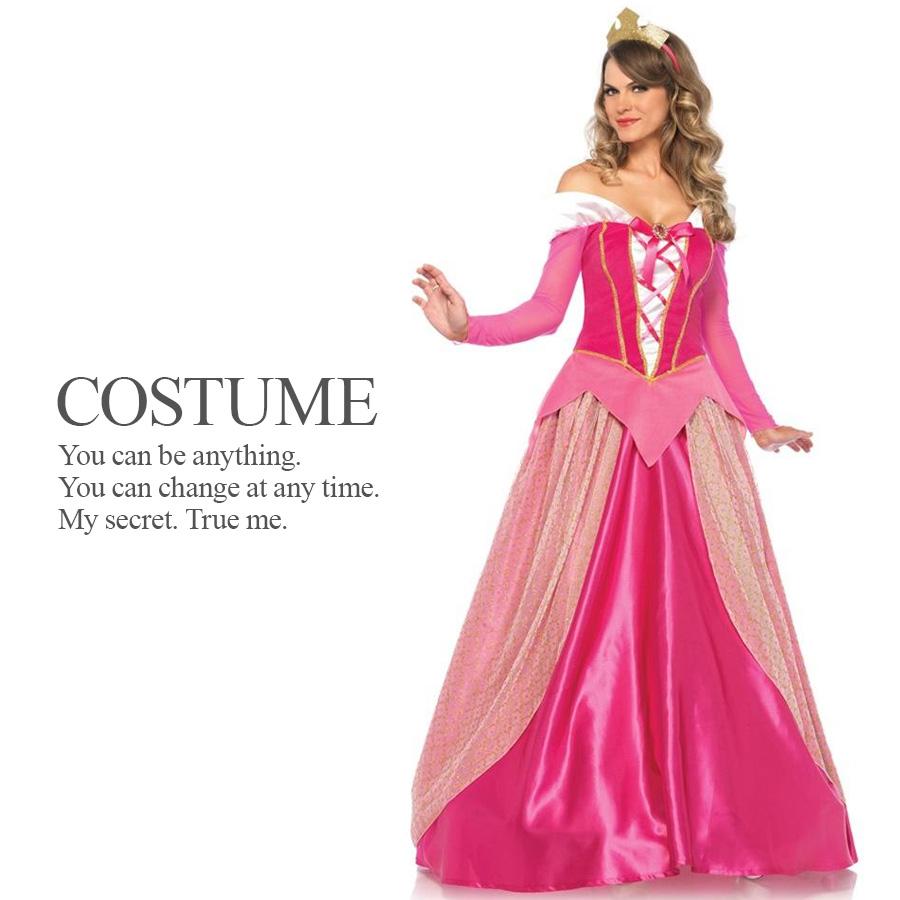 ピンクプリンセス 2点セット ドレス 姫 プリンセス ハロウィン コスプレ 衣装 コスチューム 【Leg Avenue レッグアベニュー LG-85612】
