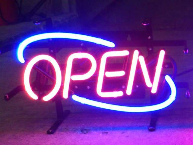 【サイズを選べるネオン管】ネオンサイン NEW OPEN ニューオープン(電飾 電光掲示板 照明 インテリア 看板 アメリカン雑貨)