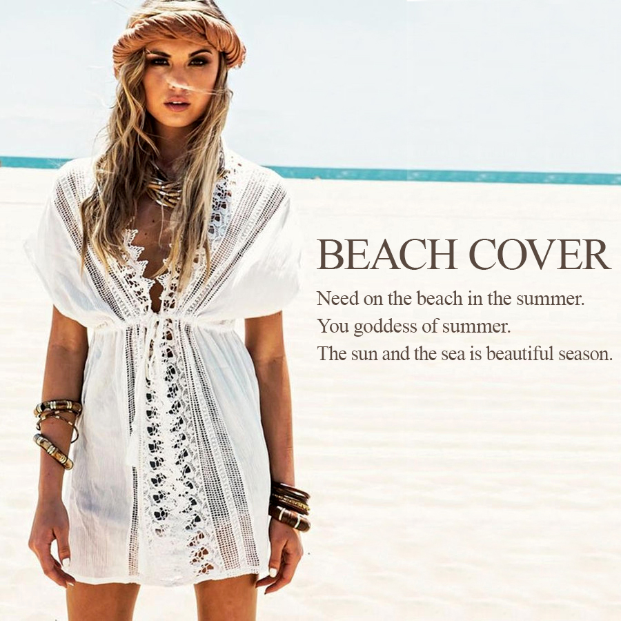 a45686020fadbc Tops cover up beachwear resort beach item beach cover up B296 to wear on Bohemian  Cloche ...