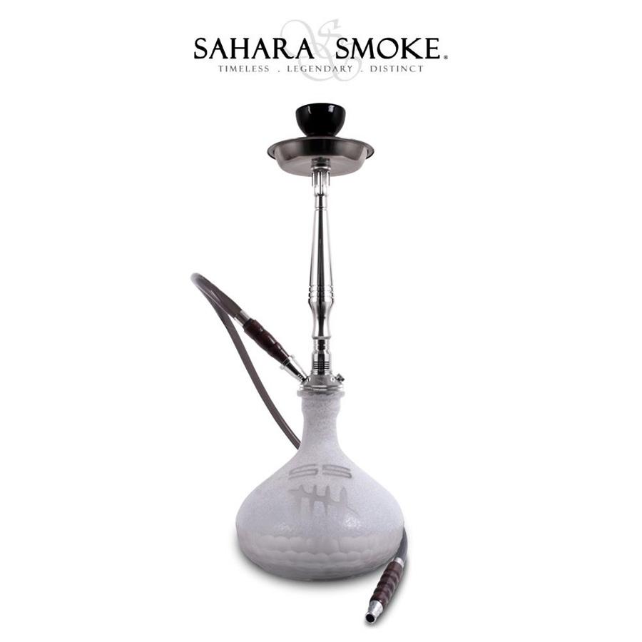 【送料無料】【最高級シーシャパイプ】SS5 White 68cm 水タバコ フーカー shisha ナルギレ アロマスモーク 水パイプ