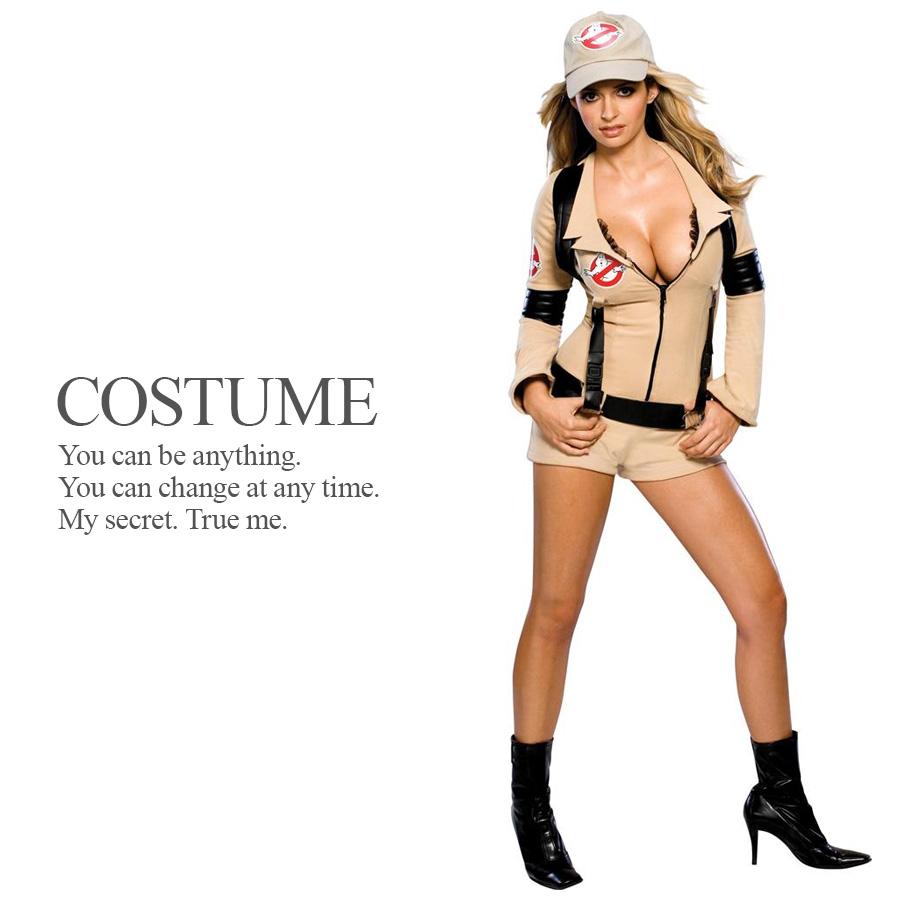 大人用ゴーストバスターズガール ゴーストバスターズ ライセンス 公式 レディース ダンス 仮装 演劇 ハロウィン コスプレ 衣装 コスチューム ルービーズ かっこいい セクシー