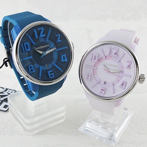ペア腕時計 ボックス付き テンデンス 時計 ペアウォッチ ガリバー ブルー ピンク ガリバー TG730003TG730002 ブランド 男女 カップル ペアセット 誕生日 お祝い プレゼント ギフト お洒落