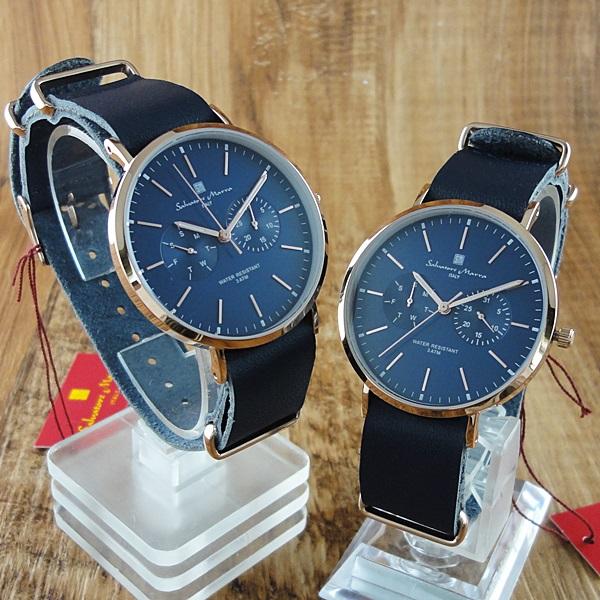 国内正規品 ペア腕時計 ボックス付き サルバトーレマーラ 時計 ペアウォッチ SM15117-PGNVPGSM15117-PGNVPG ビジネス 男女 ペアセット カップル ブランド 時計 誕生日 お祝い プレゼント ギフト