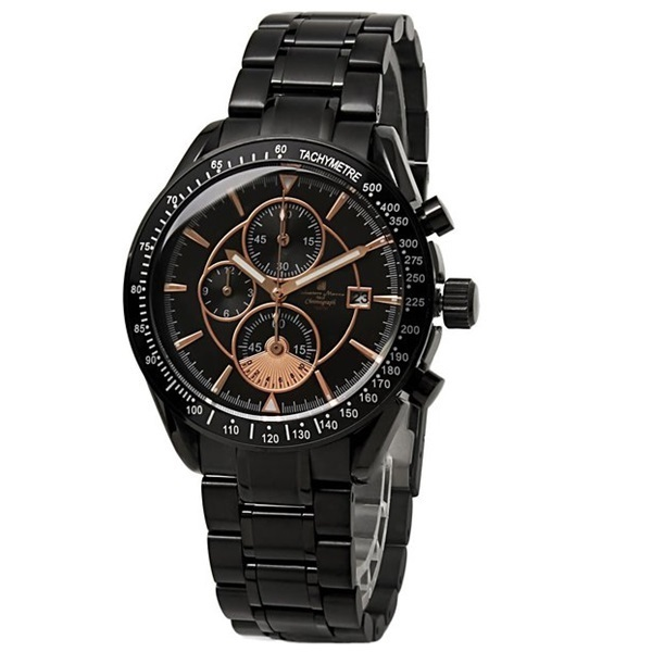 国内正規品 サルバトーレマーラ 時計 メンズ クロノグラフ SM14113-IPBKPG ビジネス 男性 ブランド 時計 誕生日 お祝い プレゼント ギフト お洒落