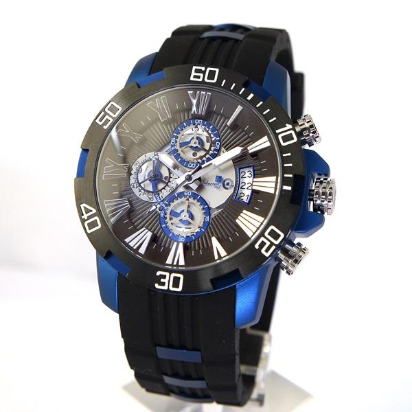 国内正規品 サルバトーレマーラ 時計 メンズ クロノグラフ SM15109-BKBL ビジネス 男性 ブランド 時計 誕生日 お祝い プレゼント ギフト お洒落