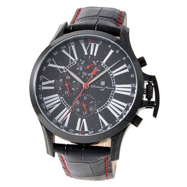 国内正規品 サルバトーレマーラ 時計 メンズ SM14123-IPBK ビジネス 男性 ブランド 時計 誕生日 お祝い プレゼント ギフト お洒落, オールライト fd360cd2