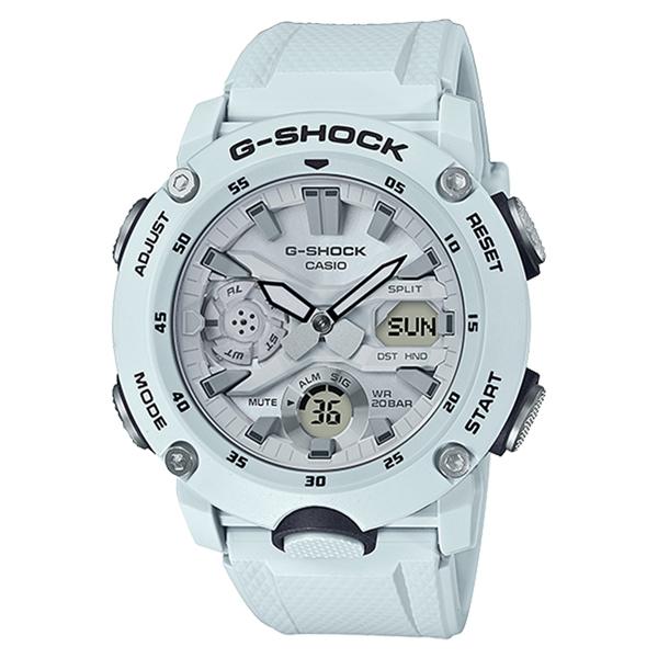 CASIO G-SHOCK Gショック ジーショック カシオ 腕時計 アナデジ ブルー カーボン/樹脂 20気圧防水 海外モデル GA-2000S-7A ビジネス 男性 ブランド 誕生日 お祝い プレゼント ギフト