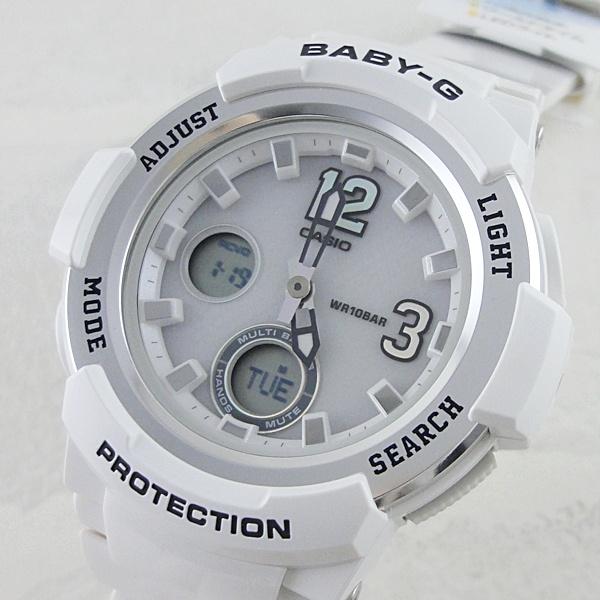 国内正規品 メーカー1年間保証付き カシオ Baby-G ベビーG 時計 レディース 腕時計 タフソーラー デジアナ ホワイト BGA-2100-7BJF ビジネス 女性 ブランド 誕生日 お祝い プレゼント ギフト お洒落