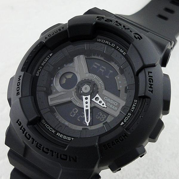 【キャッシュレス5%還元】国内正規品 カシオ Baby-G ベビーG 時計 レディース 腕時計 G-SHOCK ペアデザイン ブラック BA-110BC-1AJF ビジネス 女性 ブランド 誕生日 お祝い プレゼント ギフト