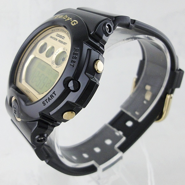 国内正規品 カシオ Baby-G ベビーG 時計 レディース 腕時計 6900シリーズ ブラック×ゴールド BG-6901-1JF ビジネス 女性 ブランド 誕生日 お祝い プレゼント ギフト お洒落