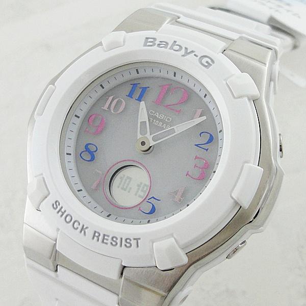 国内正規品 カシオ Baby-G ベビーG 時計 レディース 腕時計 トリッパー タフソーラー ホワイト BGA-1100GR-7BJF ビジネス 女性 ブランド 誕生日 お祝い プレゼント ギフト お洒落