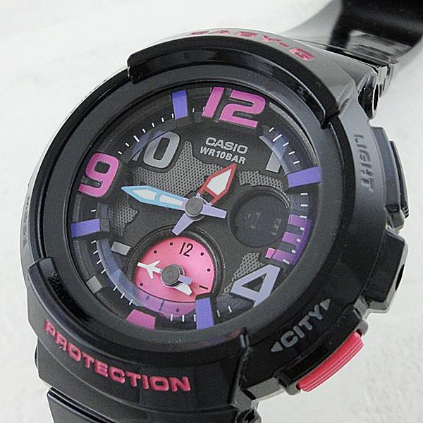 国内正規品 カシオ Baby-G ベビーG 時計 レディース 腕時計 ビーチ・トラベラー ブラック BGA-190-1BJF ビジネス 女性 ブランド 誕生日 お祝い プレゼント ギフト お洒落