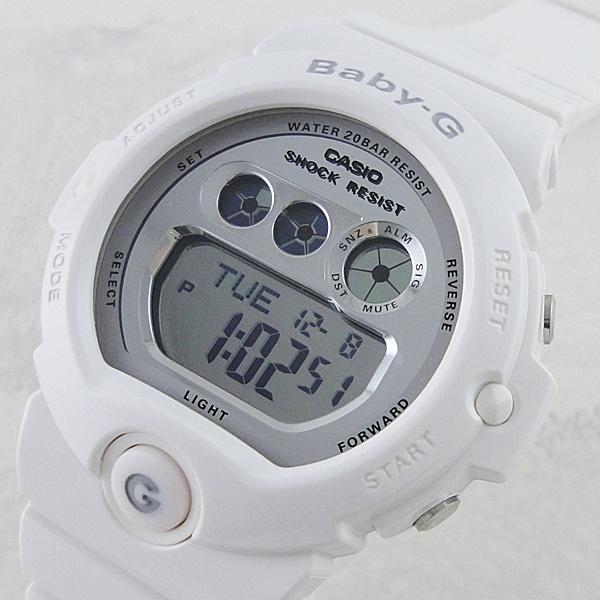 国内正規品 カシオ Baby-G ベビーG 時計 レディース 腕時計 6900シリーズ ホワイト×シルバー BG-6900-7JF ビジネス 女性 ブランド 誕生日 お祝い プレゼント ギフト お洒落