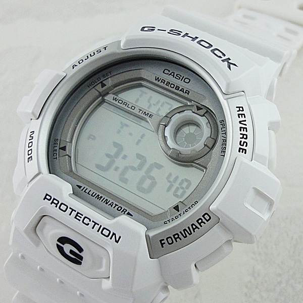 国内正規品 カシオ Gショック 時計 メンズ 腕時計 ビックケース デジタル ホワイト G-8900A-7JF ビジネス 男性 ブランド 誕生日 お祝い プレゼント ギフト お洒落