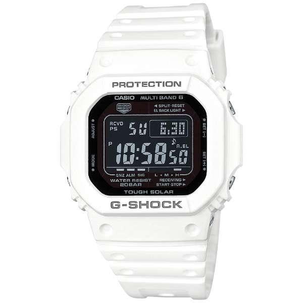 国内正規品 メーカー1年間保証付き カシオ Gショック 時計 メンズ 腕時計 タフソーラー ペアモデル ホワイト デジタル GW-M5610MD-7JF ビジネス 男性 ブランド 誕生日 お祝い プレゼント ギフト お洒落