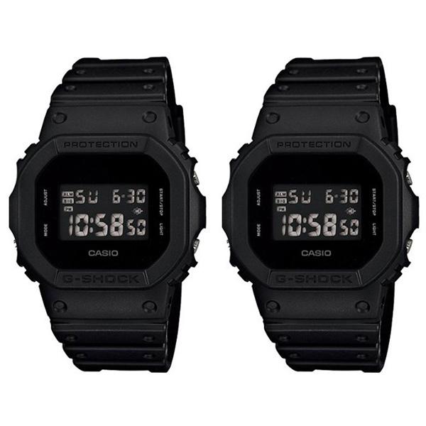 カシオ G-SHOCK ジーショック 腕時計 ペアウォッチ ソリッドカラーズ デジタル 20気圧防水 ブラック DW-5600BB-1DW-5600BB-1 ブランド 男女 カップル ペアセット 誕生日 お祝い プレゼント ギフト お洒落