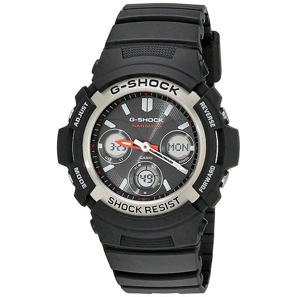 カシオ Gショック 時計 メンズ 腕時計 タフソーラー アナログ デジタル ブラック AWG-M100-1A ビジネス 男性 ブランド 誕生日 お祝い プレゼント ギフト お洒落