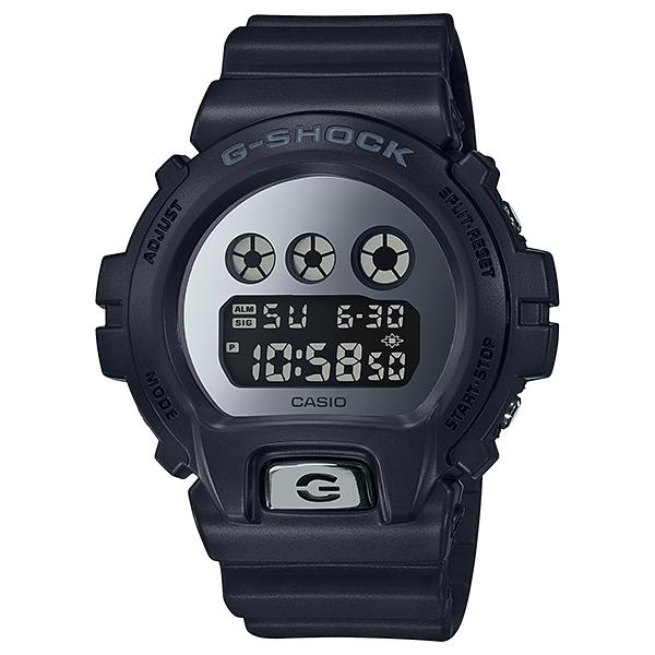 国内正規品 カシオ 時計 メンズ 腕時計 Gショック G-SHOCK ジーショック デジタル 多機能 20気圧防水 ブラック×シルバー DW-6900MMA-1JF ビジネス 男性 ブランド 誕生日 お祝い プレゼント ギフト お洒落