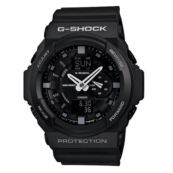 CASIO G-SHOCK Gショック ジーショック カシオ 時計 メンズ 腕時計 BASIC アナログ デジタル アナデジ ブラック 20気圧防水 海外モデル GA-150-1A ビジネス 男性 ブランド 誕生日 お祝い プレゼント ギフト お洒落