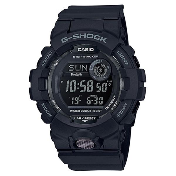 国内正規品 メーカー1年間保証付き カシオ Gショック メンズ 腕時計 G-SQUAD スマートフォンリンク ランニング 黒 ブラック GBD-800-1BJF ビジネス 男性 ブランド 誕生日 お祝い プレゼント ギフト お洒落