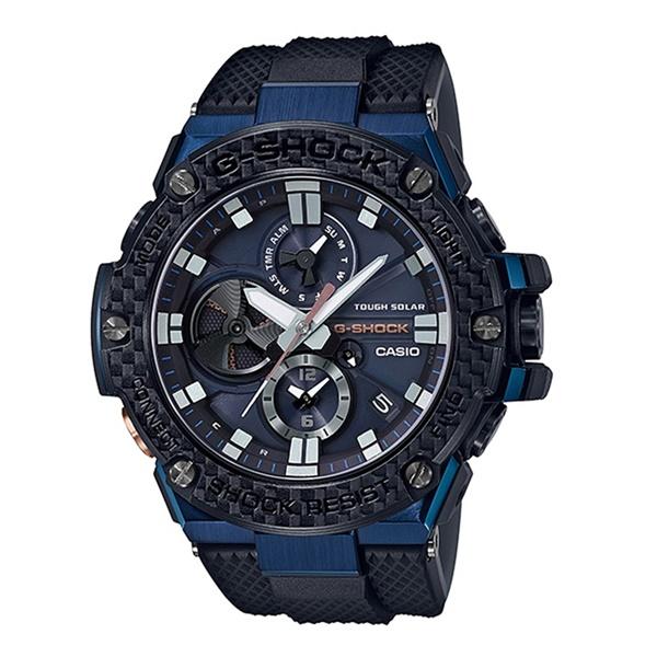 国内正規品 カシオ Gショック ジーショック メンズ 腕時計 電池交換不要!電波ソーラー Gスチール GST-B100XB-2AJF ビジネス 男性 ブランド 誕生日 お祝い プレゼント ギフト お洒落