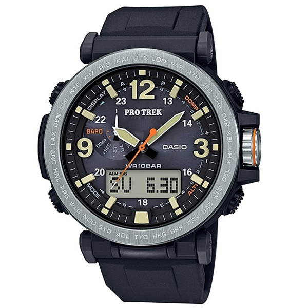 国内正規品 CASIO カシオ PRO TREK プロトレック 時計 メンズ レディース 腕時計 トリプルセンサー タフソーラー スマートアクセス アウトドア 小型 軽量 PRG-600-1JF ビジネス 男性 ブランド 誕生日 お祝い プレゼント ギフト お洒落