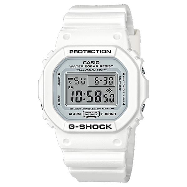 CASIO G-SHOCK Gショック ジーショック カシオ 腕時計 デジタル ホワイト 20気圧防水 海外モデル DW-5600MW-7 ビジネス 男性 女性 ブランド 誕生日 お祝い プレゼント ギフト