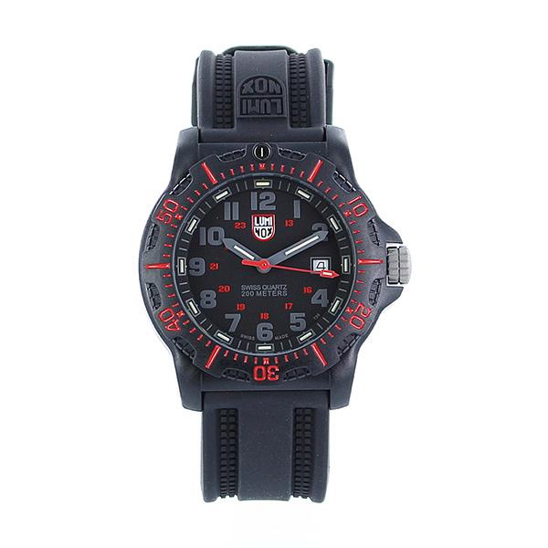 ルミノックス 時計 メンズ 腕時計 NAVY SEAL ネイビーシールズ 20周年アニバーサリー 200m防水 レッド ブラック ラバー XL.8815 ビジネス 男性 ブランド 誕生日 お祝い プレゼント ギフト お洒落
