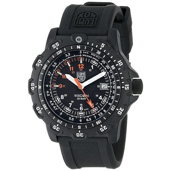 ルミノックス 時計 メンズ 腕時計 RECON POINTMAN MAN リーコンポイントマン 20気圧防水 ブラック ラバー 8821.KM ビジネス 男性 ブランド 誕生日 お祝い プレゼント ギフト お洒落